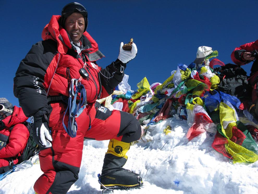 8848-метровой горы Эверест