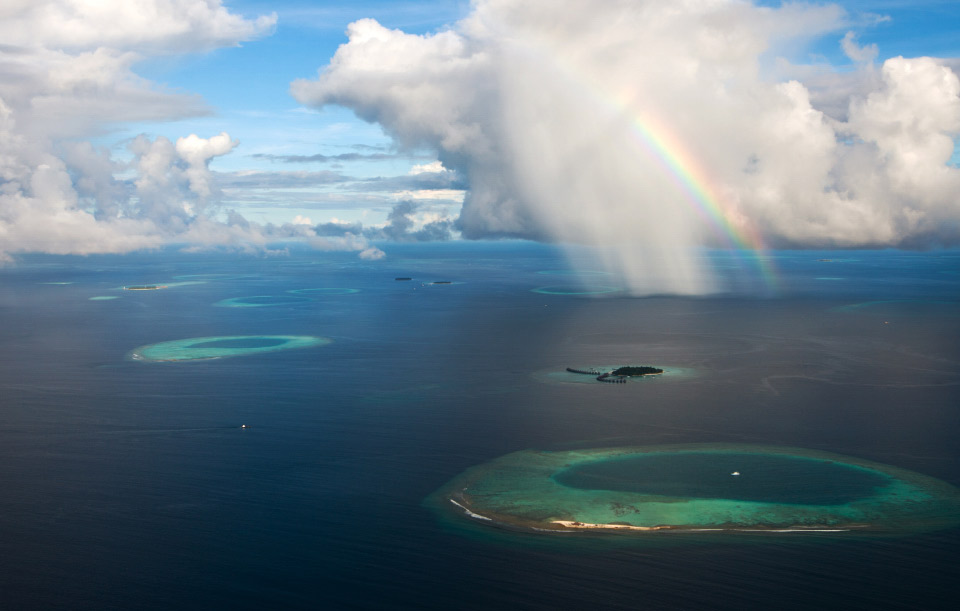 rainbow-over-maldives