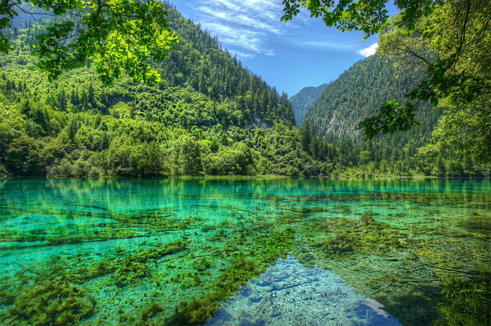 3jiuzhaigou-china