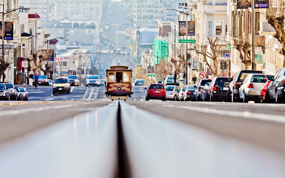 Прославленный город Сан-Франциско в 12 удивительных фотографиях