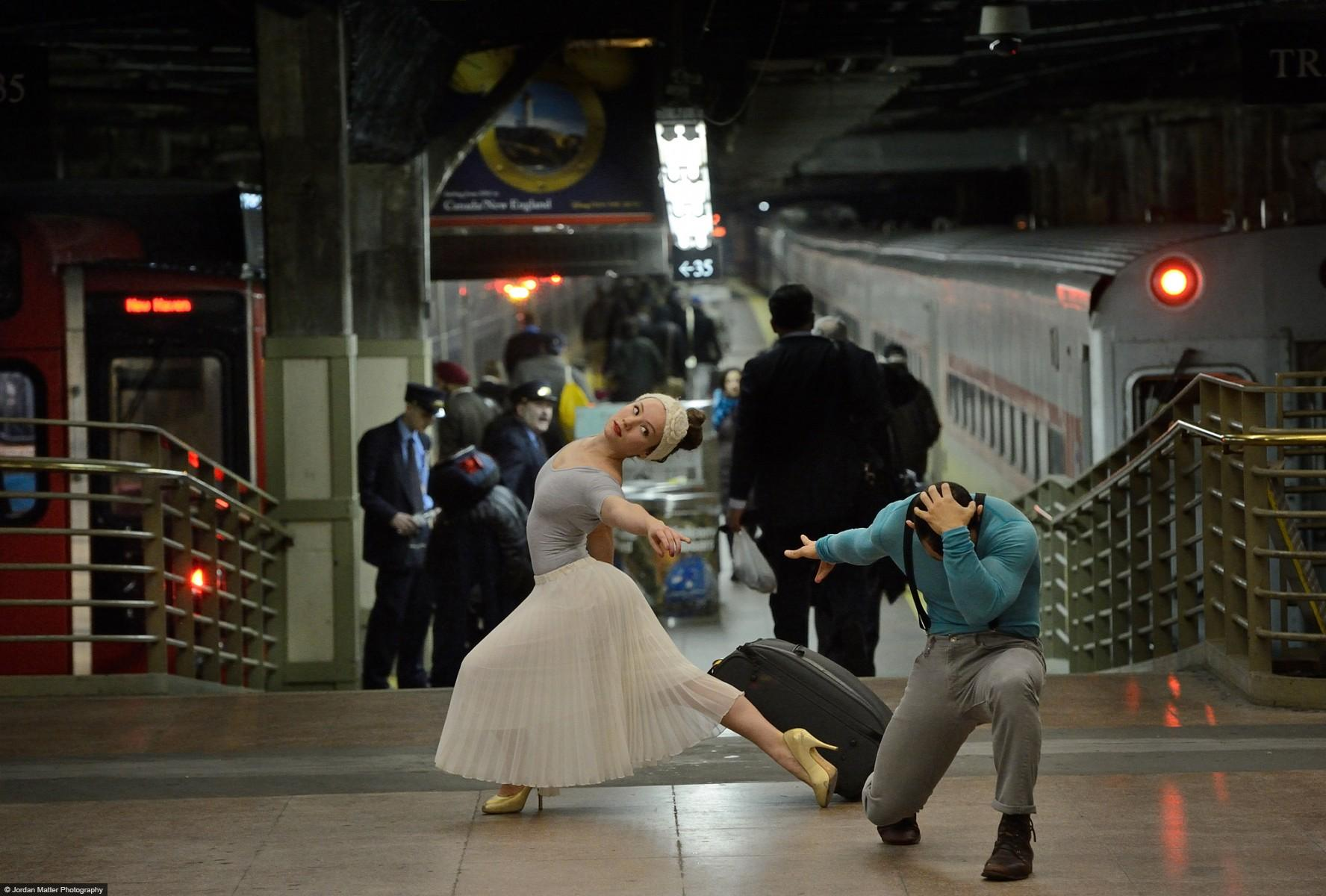 Dancers Among Us Grand Central Station Orlando Martinez SarahSadie Newett-