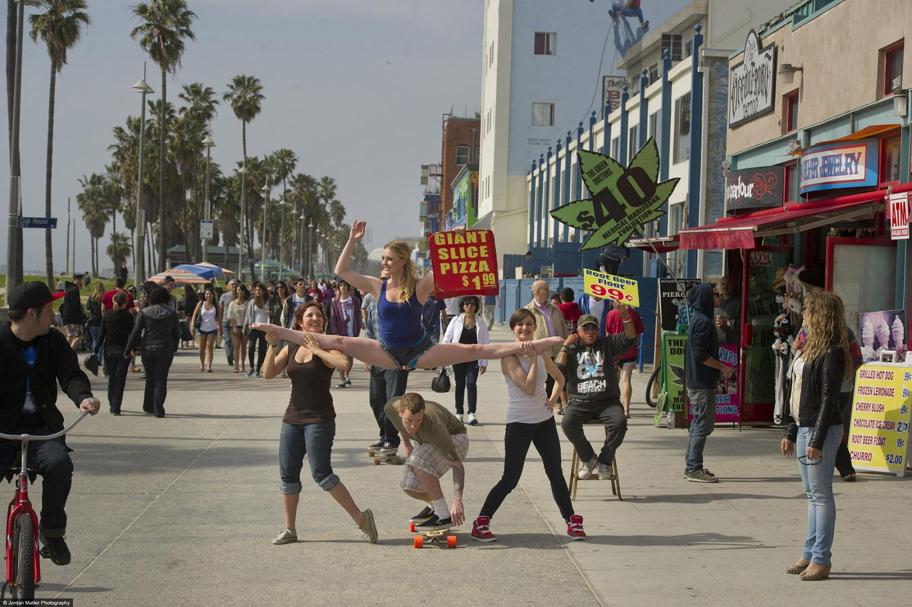 Kayla Radomski on Venice Beach Dancers Among Us33