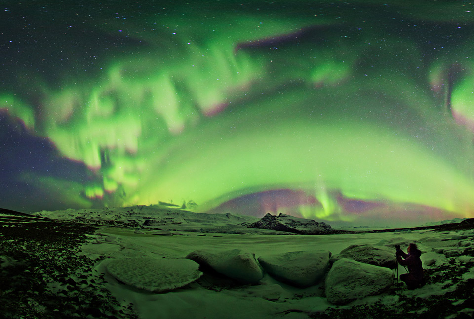 7beautiful-aurora-night-iceland Природа «ледяной страны» - 35 пейзажных фотографий Исландии