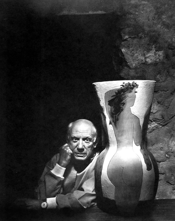 Pablo Picasso - Portraits by Yousuf Karsh