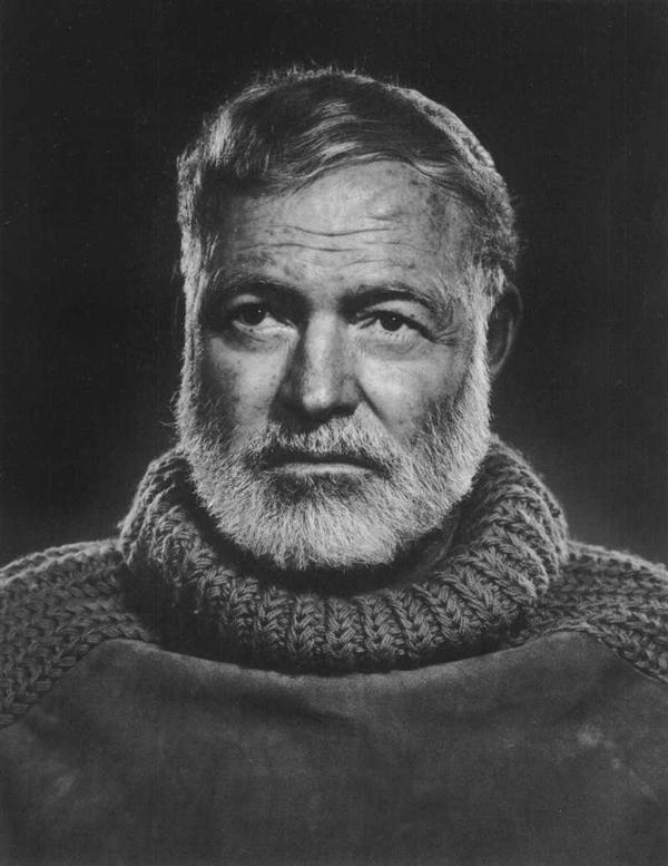 Ernest Hemingway - Portraits by Yousuf Karsh