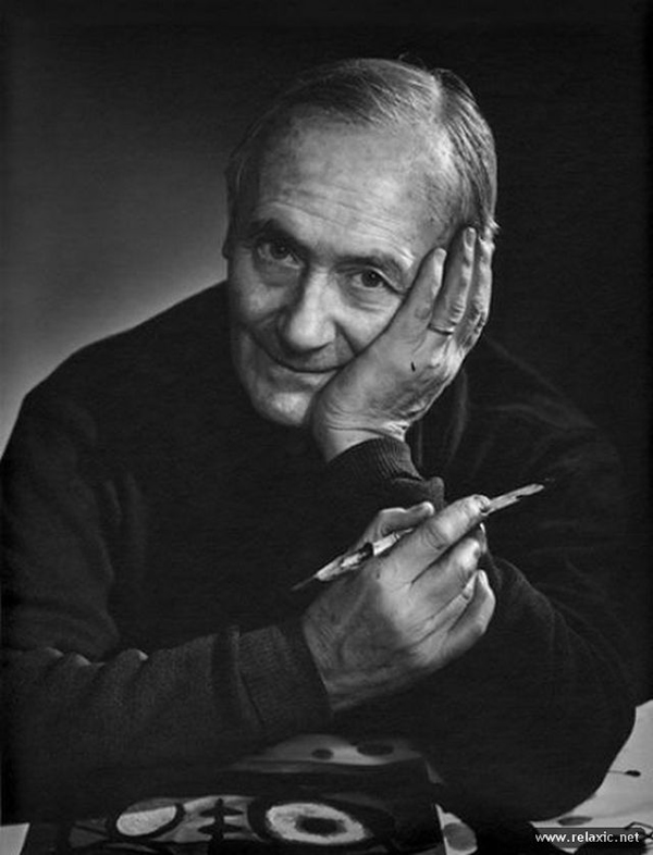 Joan Miró - Portraits by Yousuf Karsh