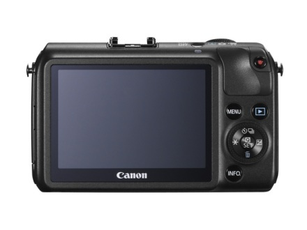 canon eos m screen