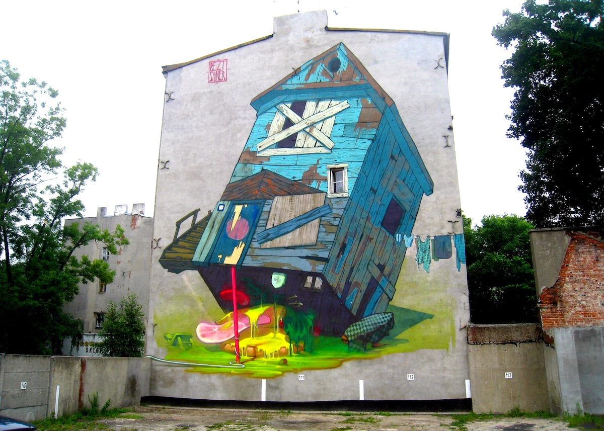 By ETAM CREW in Lodz, Poland – Organized by Urban Forms Foundation