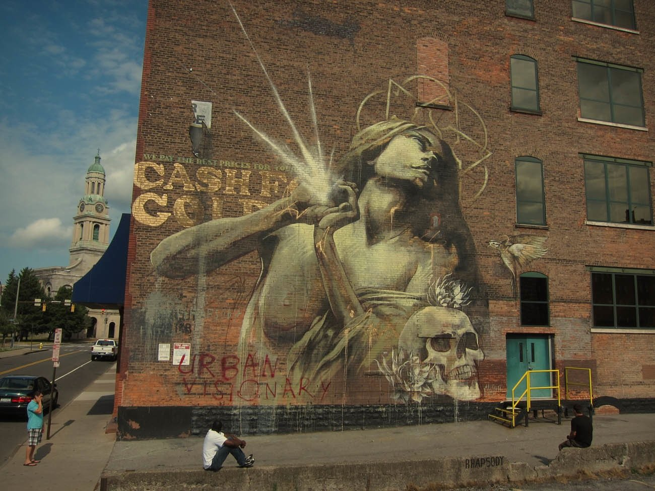 Street Art by faith47 in Rochester and New York, USA