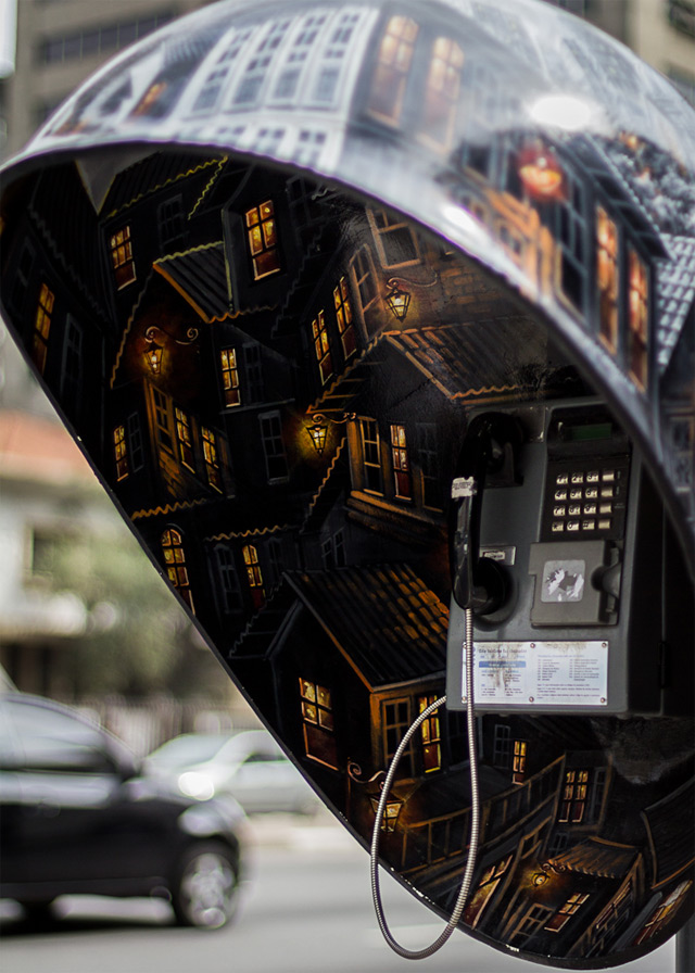 Call Parade: 100 Phone Booths Given to 100 Artists on the Streets of SГЈo Paulo