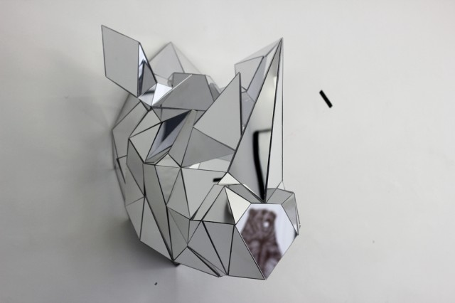 Mirrored Geometric Animals by Arran Gregory