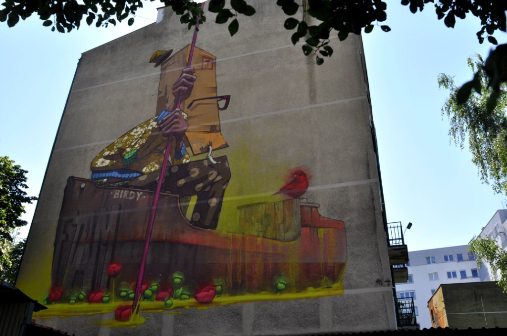 Street Art on Traffic Design festival – In Gdynia, Poland