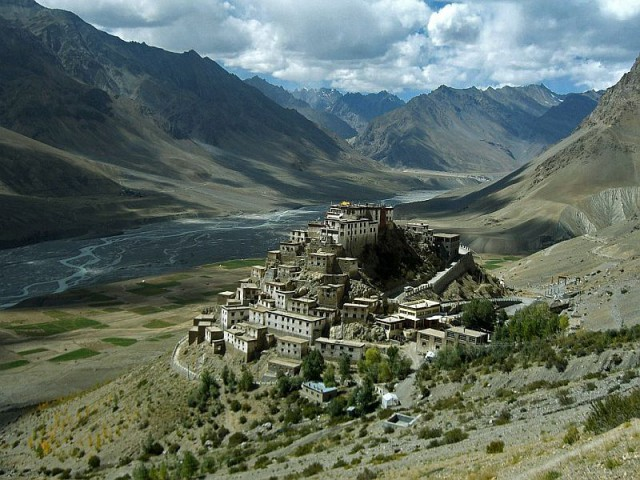 Ки Гомпа – самый большой тибетский буддийский храм