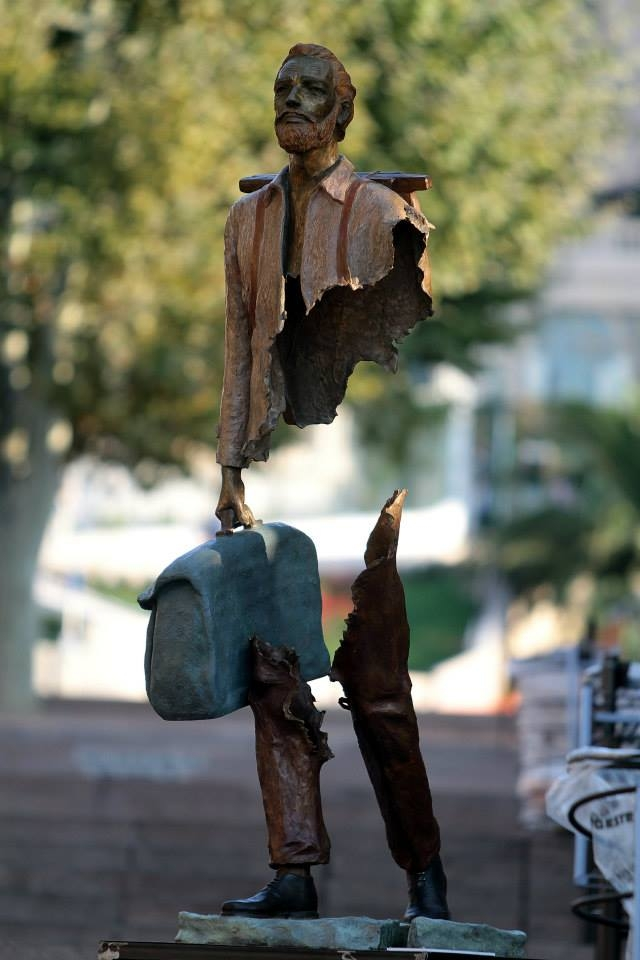 Скульптурные композиции Бруно Каталано (Bruno Catalano)