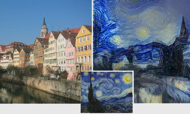 Учёные создали алгоритм, который придаёт фотографиям стиль живописи великих художников