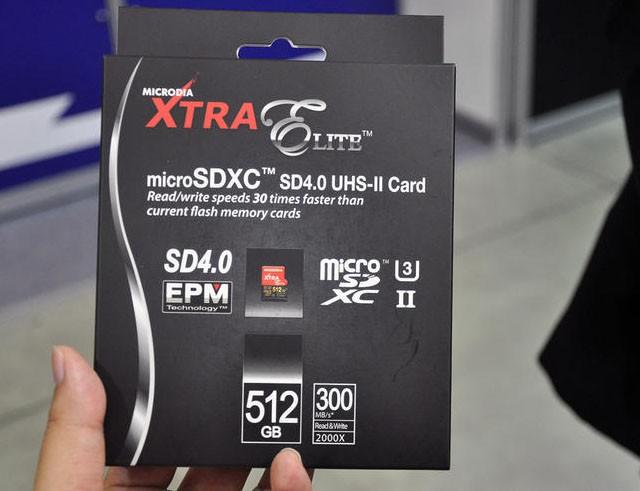 512 Гб данных ютятся на накопителе размером меньше ногтя - карта памяти MicroSD от Microdia