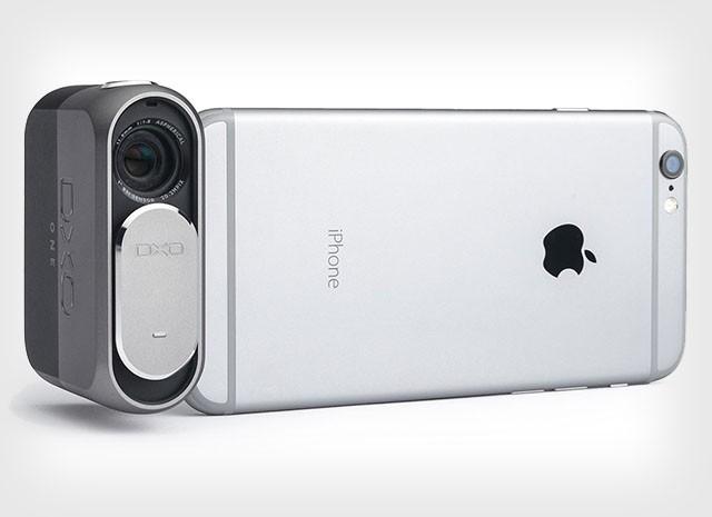 DxO ONE – внешняя фотокамера для съёмки с iPhone