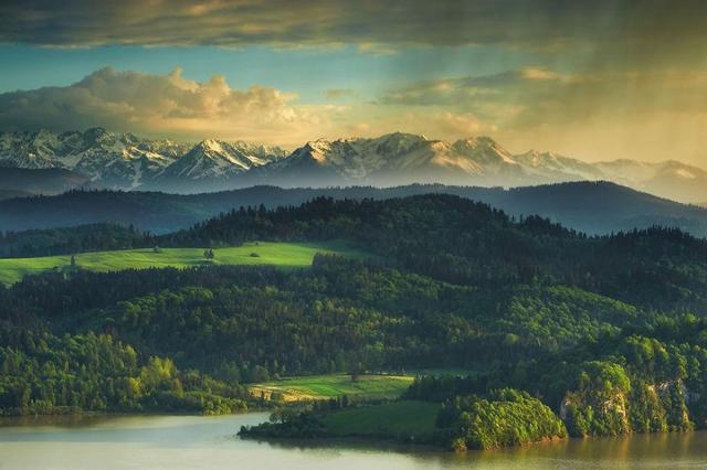 Роскошные пейзажи в польских Татрах от Марсина Кесека