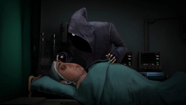 Короткометражный анимационный фильм о жутко невезучей смерти