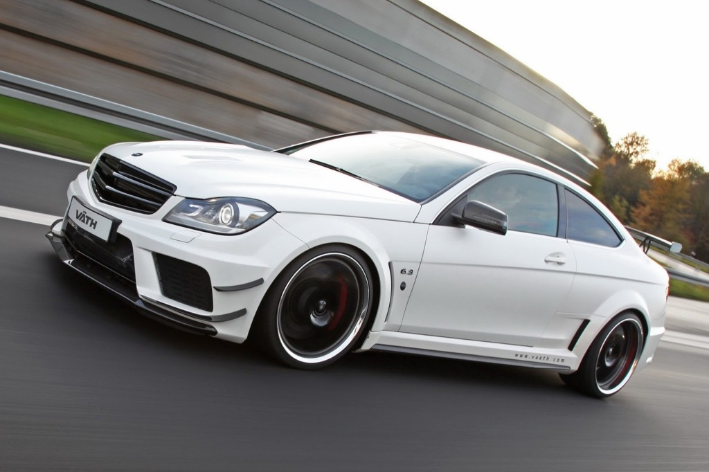 Как Vath модифицировал Mercedes C63 AMG Black Series Coupe