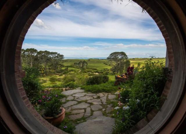 Хоббитон - реальное сказочное место в Новой Зеландии