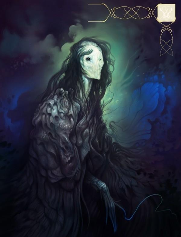 Неземные зверушки Марка Фейси (Mark Facey)