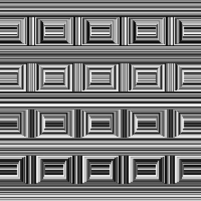 Иллюзия кессона: сможете ли вы увидеть на этой картинке 16 кругов?