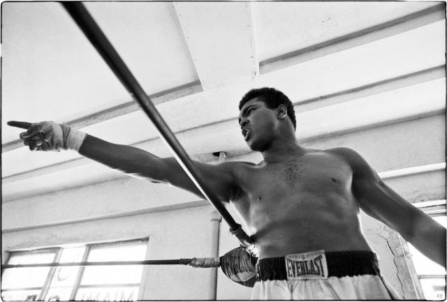 «Секрет Мохаммеда Али» - уникальные фотографии с тренировок перед «боем века»