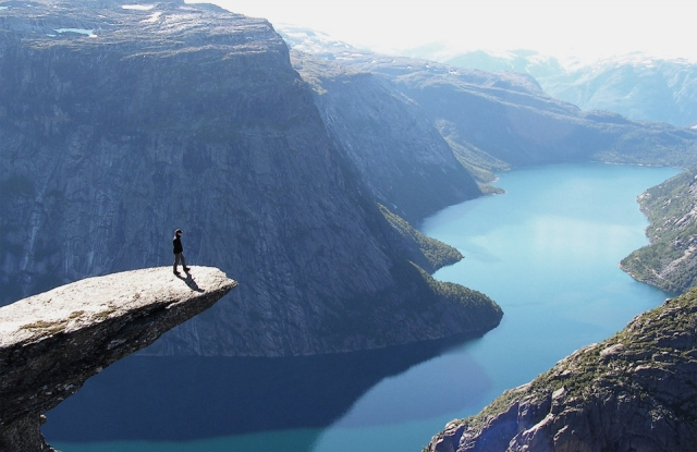 Роскошные пейзажи королевства Норвегия
