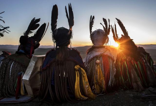 Фоторепортаж: шаманские ритуалы Монголии