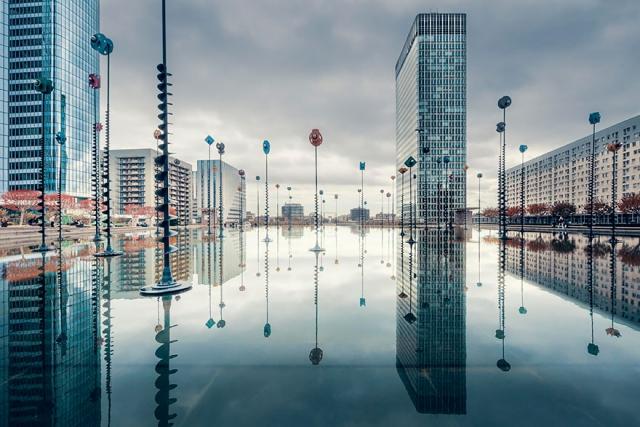 Мир вверх дном - 25 потрясающих фотографий с отражениями