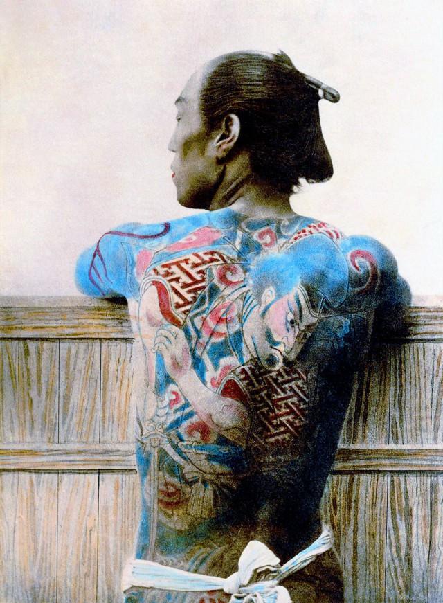 История красивых и сложных японских татуировок: от привилегии императоров до клеймения преступников