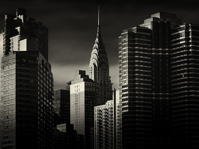 Уличные и архитектурные фотографии Алекса Тьюшера: хмурый Нью-Йорк