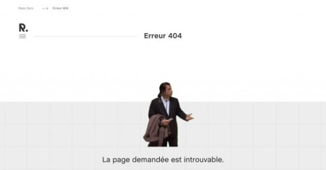 «Ошибка 404» - коллекция оригинальных заглушек на FourZeroFour