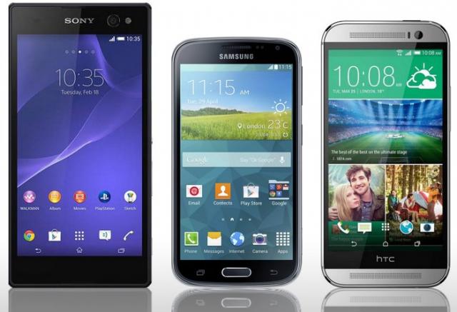 Лучшие смартфоны для съёмки «селфи» 2014