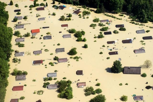 Наводнения в Европе. Фоторепортаж