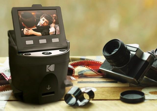 Kodak Scanza – компактный бюджетный сканер плёнки