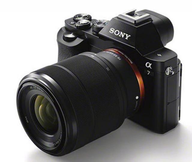 Официально анонсированы полнокадровые беззеркальные камеры Sony A7 и A7R