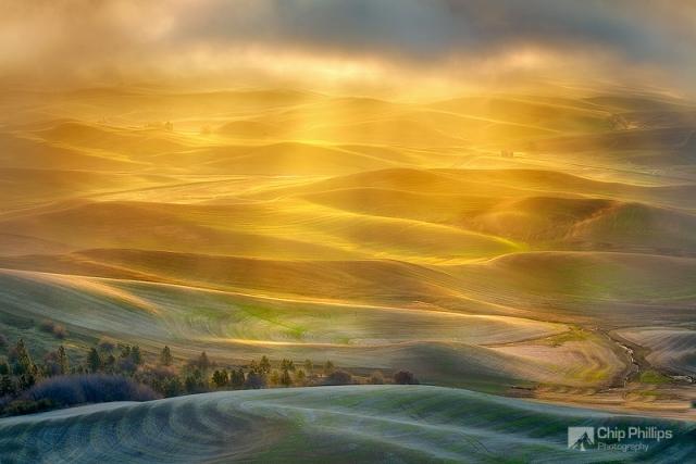 Искрящаяся красота природы в пейзажных фотографиях Чипа Филлипса
