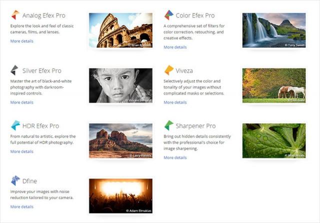 Профессиональные инструменты для редактирования фото Google Nik Collection (150$) теперь бесплатны