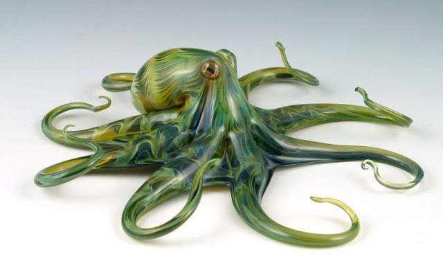 Потрясающие стеклянные скульптуры Скотта Биссона