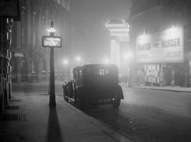 Фотографии загадочного туманного Лондона в начале 20-го века