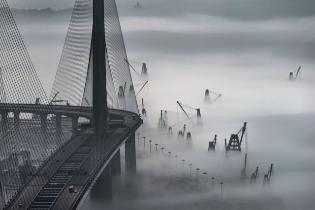 Туман в Гонконге