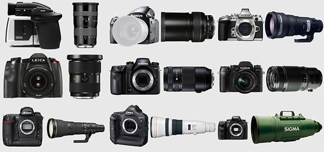 Самые дорогие комплекты фотоаппарат плюс объектив от каждого производителя