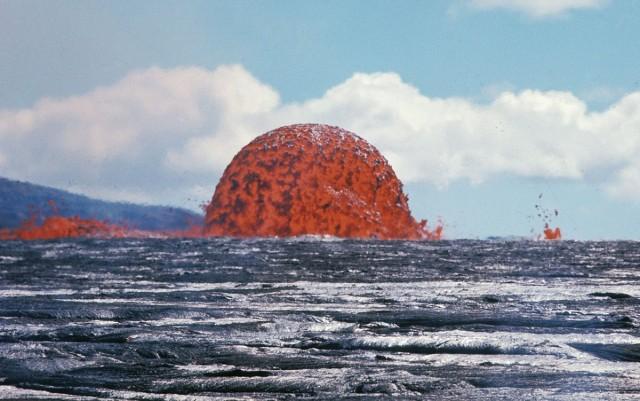 Фантастический 20-метровый купол из лавы на Гавайях