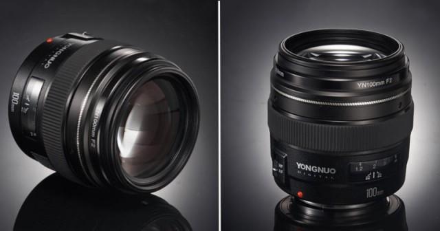 Yongnuo выпускает бюджетный объектив 100мм F/2 для зеркалок Canon всего за 170 долларов