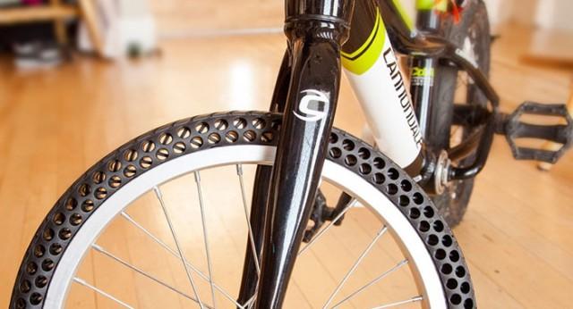 «Неубиваемые» безвоздушные шины для велосипедов
