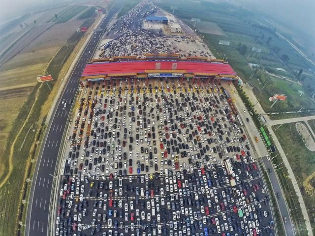 Аэрофотографии о многообразии жизни в Китае