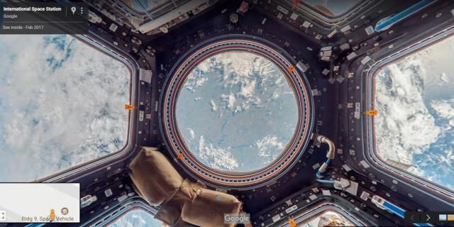 Добро пожаловать в космос: впервые Google предлагает виртуальные экскурсии по МКС