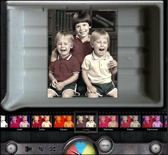 Онлайн редактор фотографий: ретро, фотоэффекты
